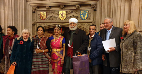 Ayurveda Day at UK Parliament in London on November 5, 2019